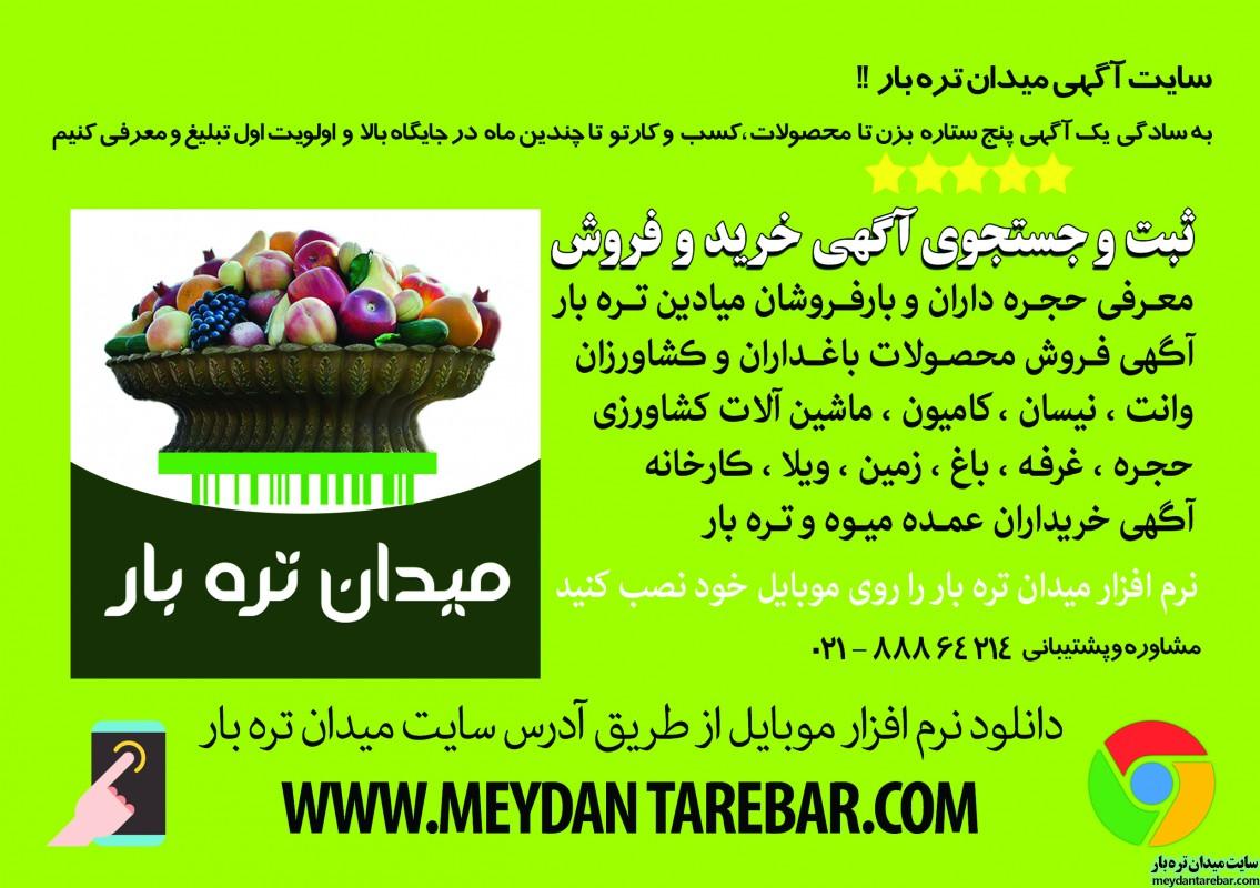 تصویر شماره بهترین سایت آگهی خرید و فروش عمده میوه و تره بار ، محصول خود را سریعا بفروشید ...